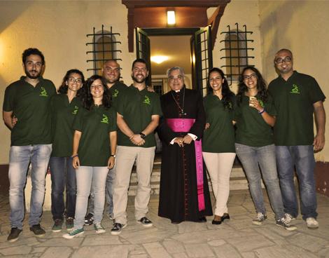 soci cooperativa Riparo Vescovo Marcello Semeraro